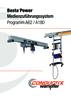 Bestapower Medienzuführungssystem Programm A62 / A180