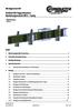 ProShell 206 Tragprofilsystem - Bestückungsvariante Programm 0812 – 7-polig