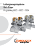 Leitungswagensysteme für I-Träger Programm 0350 | 0360 | 0364