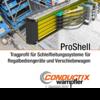 ProShell – Tragprofil für Schleifleitungssysteme für Regalbediengeräte und Verschiebewagen