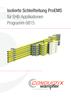 Isolierte Schleifleitung ProEMS für EHB-Applikationen Programm 0815