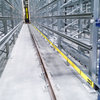 Schleifleitungssystem 0812 mit einzelisolierten Schleifeitern aus Aluminium mit eingepresster Edelstahl-Lauffläche