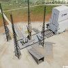 Modell ELA4, Ariane 6 Startrampe mit der mobilen Portal-Montagehalle