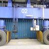 ein RTG im Hafen Buenaventura vor der Modifikation