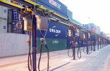 Energiezuführung für RTG Systeme im Hafen