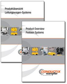 """Katalog """"Produktübersicht Leitungswagen-Systeme"""" Programm 0200"""