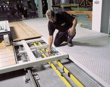 Skid-system – vehicle assembly