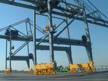 Hauptstromzuführung an 6 Containerkrane (ship to shore)