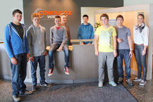Conductix-Wampfler | Neue Auszubildende & Studenten 2014