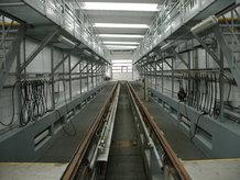 Tram Waschanlage (2 Systeme]