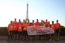 Conductix-Wampfler war mit 25 Teilnehmern am Start.