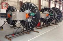 Motorleitungstrommeln für die Tulachermet Steel Company