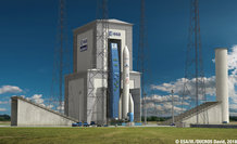 Illustration of ELA4, the Ariane 6 launch pad