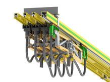 4-polige Schleifleitungssystem mit ProfiDAT