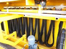 C-Schienen Leitungswagensystem im Einsatz an einem Prozesskran
