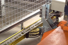 Warehousing - refrigerated warehouse Electrification and travel detection for picking units