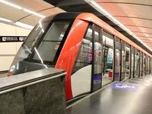 Verbindung zwischen der U-Bahn Station Paral lel und dem Berg Montjuïc