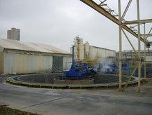 Industrielle Kläranlage