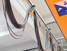 Energie und Daten für Krankatzen | Kransteuersignale über Hängetaster