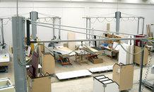 Flexible workstation equipment for kitchen manufacturing